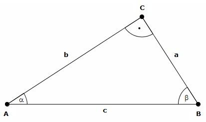 Anwendung der trigonometrischen funktionen c mayer 2012 for Hohe rechtwinkliges dreieck
